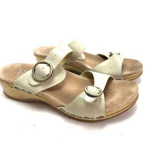 DANSKO Slides Sandals Leather Two Strap Shoes  42